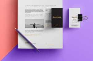 Simple Stationery Branding