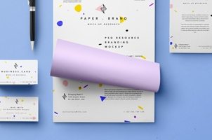 Simple Stationery Branding Vol3