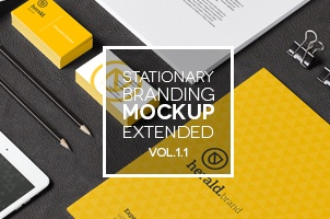 Stationery Branding Mock Up Vol 1.1