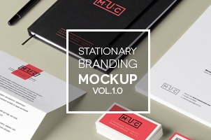 Stationery Branding Mock Up Vol 1