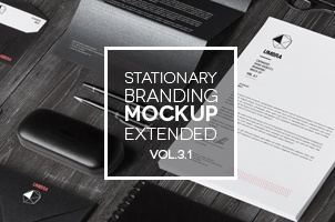 Stationery Branding Mock Up Vol 3-1
