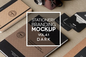 Stationery Branding Mock Up Vol 4-1