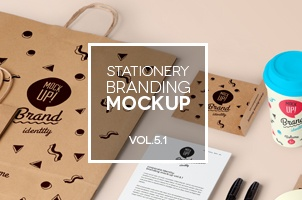 Stationery Branding Mock Up Vol 5-1