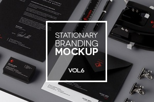 Stationery Branding Mock Up Vol 6
