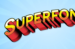 Superfont Psd Text Effect