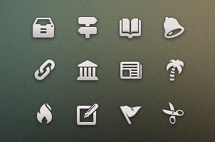 Tab Bar Icons iOS vol4