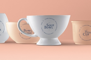 Tableware Psd Mockup Vol4
