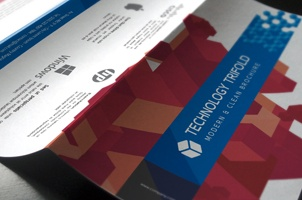 Technology Tri Fold Brochure Template
