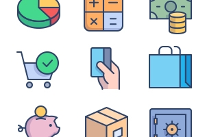 The Color Icons Set :: E-commerce