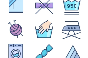 The Color Icons Set :: Laundry