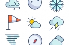 The Color Icons Set :: Weather