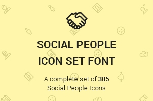 The Icons Font Set :: Social People